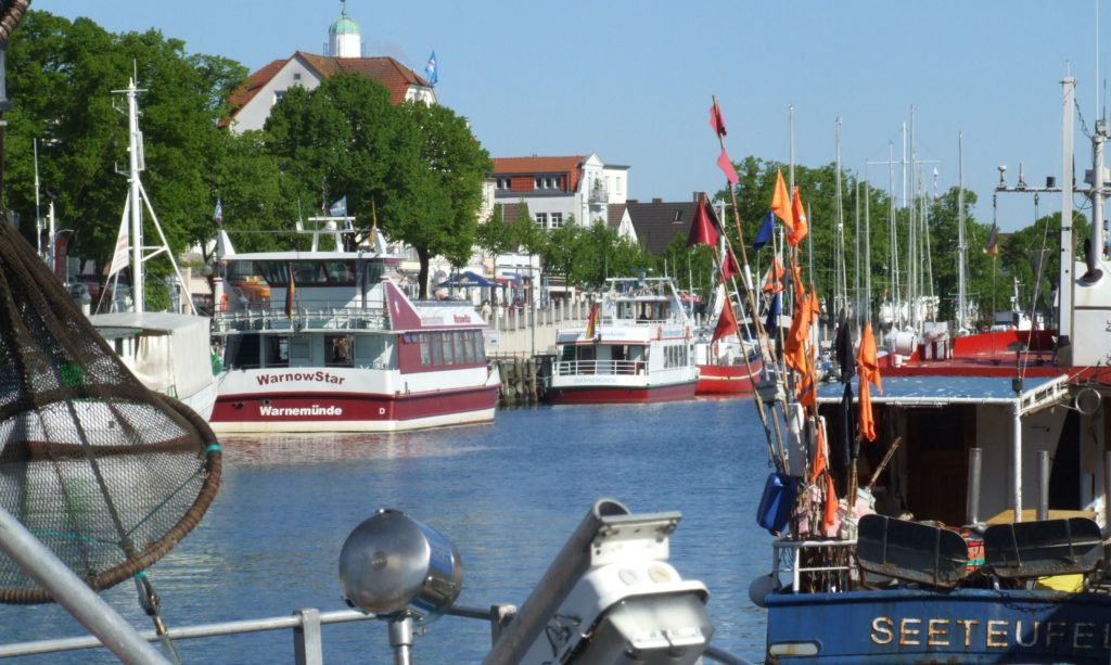 """Alter Strom"" in Warnemünde"